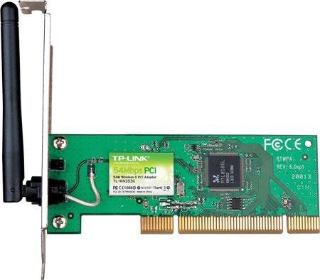 54Mbps Wireless PCI Adapter TP-LINK TL-WN353G