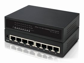 8-Port 10/100/1000Mbps PoE Switch IONNET IGE-808 (130Watt)