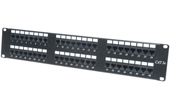 Cáp-Phụ kiện VIVANCO | Patch panel 48-port Unshielded VIVANCO CAT.5E