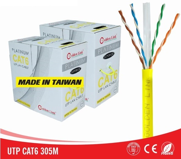 Cáp mạng Golden Link PLATINUM CAT.6 UTP