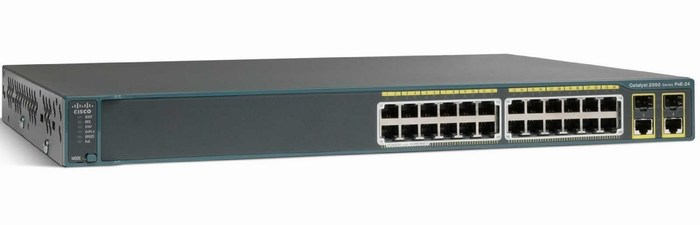 Switch CISCO Catalyst 2960 WS-C2960-24PC-S