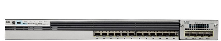 Switch CISCO Catalyst 3750 WS-C3750X-12S-S