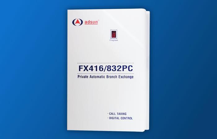Tổng đài điện thoại ADSUN FX 416PC