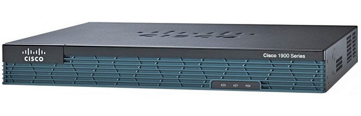 Integrated Services Router CISCO 1921-SEC/K9
