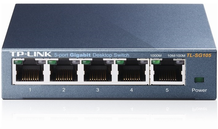 5-Port Gigabit Switch TP-LINK TL-SG105