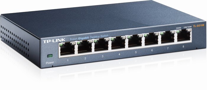 8-Port Gigabit Desktop Switch TP-LINK TL-SG108