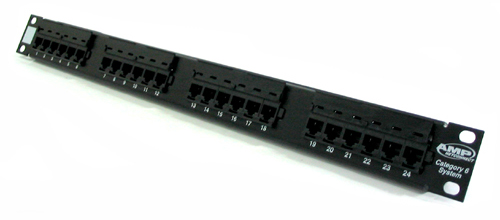 Patch panel 24 port CAT6 COMMSCOPE