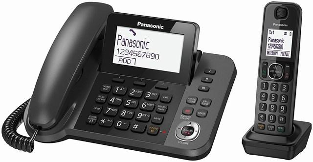 Điện thoại không dây trả lời tự động Panasonic KX-TGF320CX