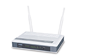 | 300Mbps 802.11n Wireless Broadband Router PLANET WNRT-627