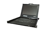 | Drawer 16 Port Combo-Free IP KVM Console with 17 inch LCD Display PLANET IKVM-17160