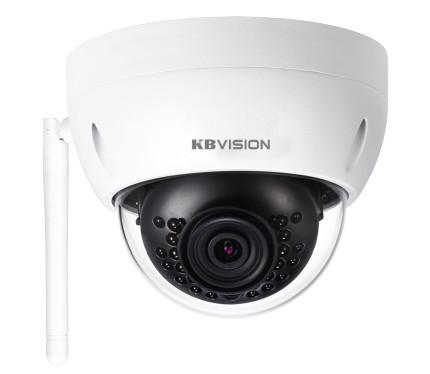 Camera IP Dome hồng ngoại không dây 3.0 Megapixel KBVISION KX-3002WN