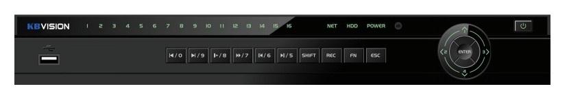 Đầu ghi hình camera IP 16 kênh KBVISION KH-6216N2