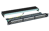 Cáp-phụ kiện Alantek | Patch panel 24-port CAT6 UTP Alantek