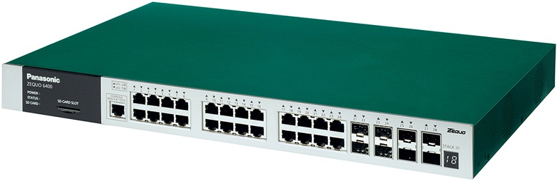 24 port 10/100/1000M Switch PANASONIC PN36240E