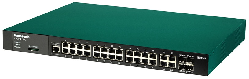 28-port 10/100/1000M + 4 SFP Switch PANASONIC PN26241