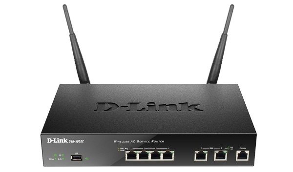 Wireless AC Dual-band Service Router D-Link DSR-500AC