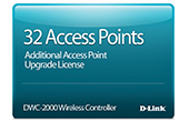 Thiết bị mạng D-Link | 32 Access Point Upgrade License D-Link DWC-2000-AP32-LIC