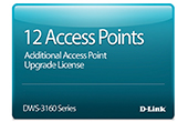 Thiết bị mạng D-Link | 12 Access Point Upgrade License D-Link DWS-316024PCAP12-LIC