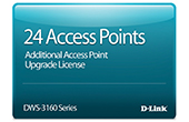 Thiết bị mạng D-Link | 24 Access Point Upgrade License D-Link DWS-316024PCAP24-LIC