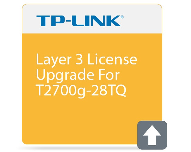 Layer 3 license upgrade for T2700G-28TQ TP-LINK T2700G-28TQ-L1000