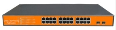 1-23 port Gigabit 24V PoE Switch WITEK WI-PMS326GFR