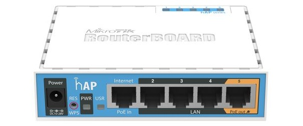 WiFi Hotspot Router Mikrotik RB951Ui-2nD (hAP)