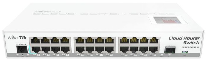Router Switch Mikrotik CRS125-24G-1S-IN
