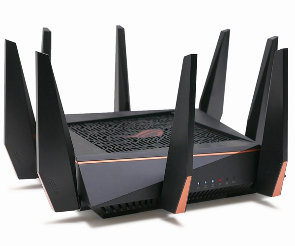Router chơi game 3 dải băng tần ROG Rapture Wireless-AC5300 ASUS GT-AC5300