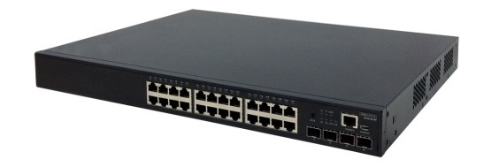 24-Port L2+ Gigabit Ethernet Access/Aggregation Switch PoE Edgecore ECS4120-28P