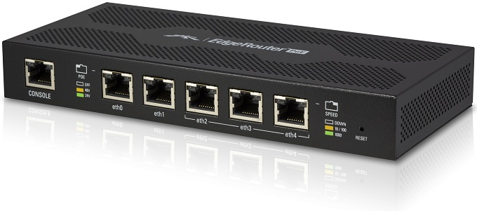 5-Port Gigabit Ethernet Router with PoE Out UBIQUITI EdgeRouter ER-PoE-5