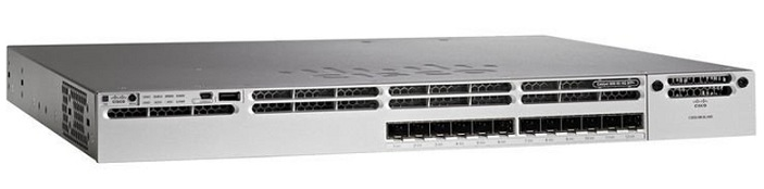 12-Port SFP Ethernet IP Base Switch Cisco WS-C3850-12S-S