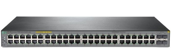 HP 1920S 48G 4SFP PPoE+ Switch JL386A