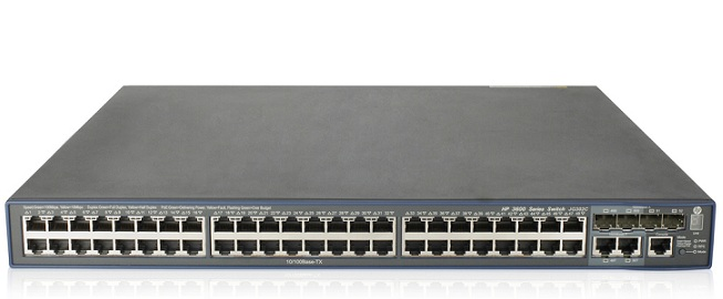 HP FlexNetwork 3600 48 PoE+ v2 EI Switch JG302C
