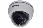 Camera IP eView | Camera IP Dome hồng ngoại eView EB724N40F