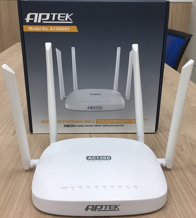 AC1300 Wireless router APTEK A134GHU