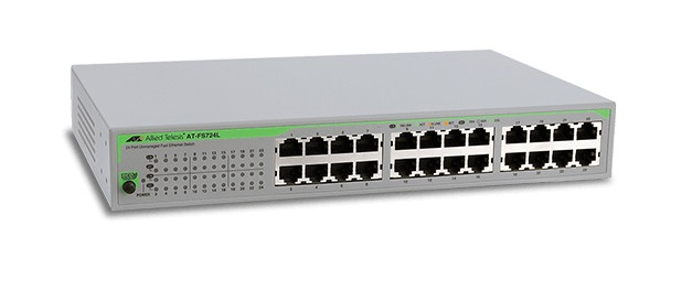 24-port 10/100TX Unmanaged Fast Ethernet Switch ALLIED TELESIS AT-FS724L