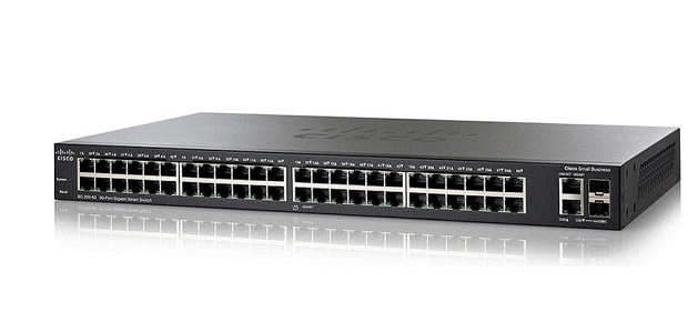 50-Port Gigabit PoE Smart Switch CISCO SG250-50P-K9-EU