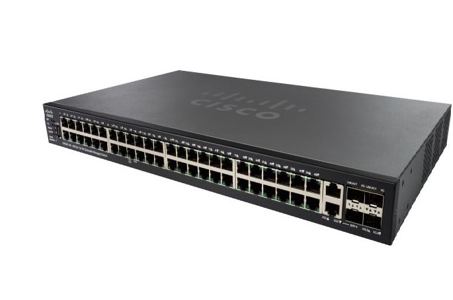 48-Port 10/100 PoE Stackable Managed Switch CISCO SF550X-48P-K9-EU