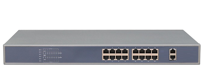 16-Port 10/100Mbps PoE Switch NETONE NO-AF-162