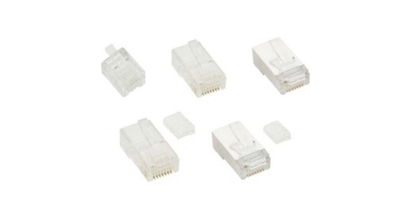 Modular Plug Shielded VIVANCO CAT5 VCR5E1