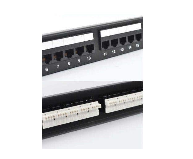 Patch Panel 50-port voice Unshielded VIVANCO (VCCPUF3502)