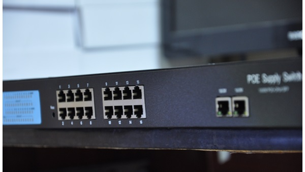16-Port 10/100Mbps PoE Switch HDTEC