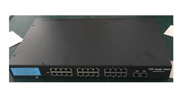 24-Port 10/100Mbps PoE Switch HDTEC