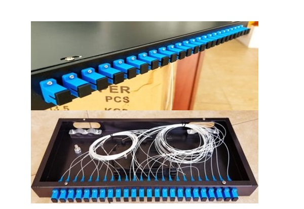 Patch Panel Rack Mount 24 cổng (Full SC/UPC)