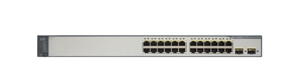 24-Port Ethernet 10/100 Switch Cisco Catalyst WS-C3750V2-24PS-S