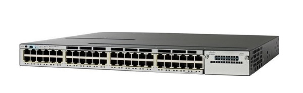 48-Port 10/100/1000 Ethernet PoE Switch Cisco Catalyst WS-C3750X-48P-E