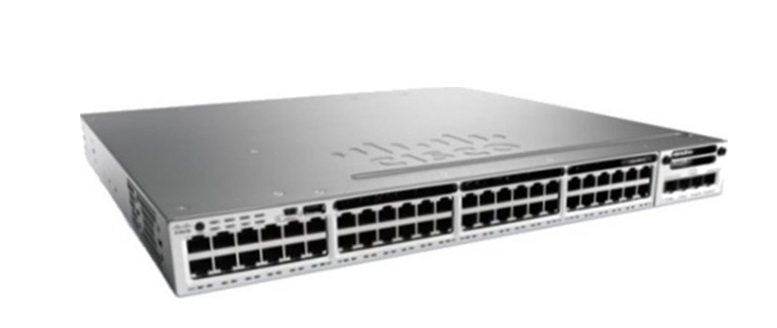 48-Port Ethernet PoE Switch Cisco Catalyst WS-C3850-48P-S