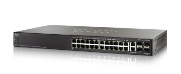 24-Port Gigabit PoE Stackable Switch SG550X-24MPP-K9-EU