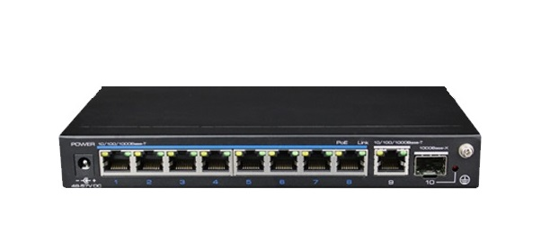 8-Port 10/100Mbps PoE Switch IONNET IFE-1008G-120