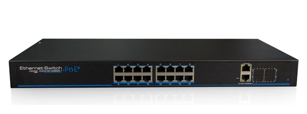 16-Port 10/100Mbps PoE Managed Switch IONNET IFS-1816W (300)